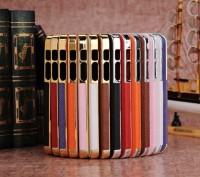 Элегантный золотистый чехол OYO Gold кожа PU с велюром для iPhone 4 4S 5 5S SE . Запорожье, Запорожская область. фото 13