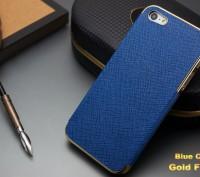 Элегантный золотистый чехол OYO Gold кожа PU с велюром для iPhone 4 4S 5 5S SE . Запорожье, Запорожская область. фото 5