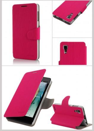Стильный чехол книжка Lenovo P780 IdeaPhone цвета в наличии:  коричневый, зелен. Запорожье, Запорожская область. фото 4