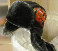 Продам зимнюю шапочку для мальчика (не одевали ни разу) теплая -мех,объем 50-52. Киев, Киевская область. фото 2