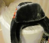 Продам зимнюю шапочку для мальчика (не одевали ни разу) теплая -мех,объем 50-52. Киев, Киевская область. фото 4