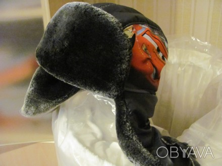 Продам зимнюю шапочку для мальчика (не одевали ни разу) теплая -мех,объем 50-52. Киев, Киевская область. фото 1