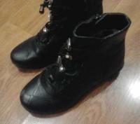 Продам деми ботиночки в хорошем состоянии, кожаные, р. 30, по стельке 19,5 см.че. Запорожье, Запорожская область. фото 3