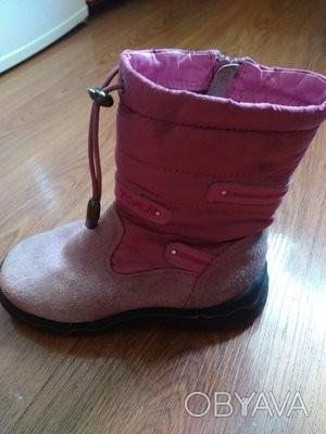 Продам ботиночки для девочки р. 28 в хорошем состоянии. по стельке 18.5 см.Верх . Запорожье, Запорожская область. фото 1