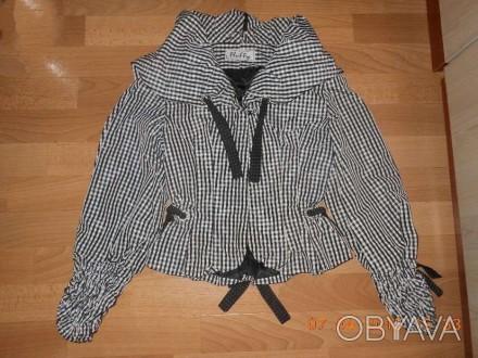 продам в отличном состоянии курточку-ветровку на теплую весну-осень р.42-44, вер. Запоріжжя, Запорожская область. фото 1