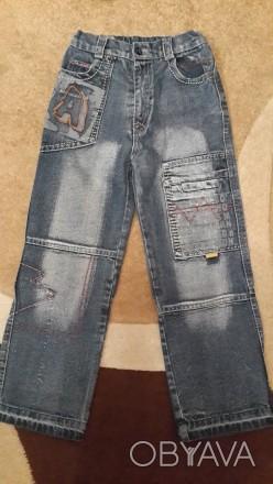 Джинсы на мальчика 7-9 лет. Материал плотный. Удобные в носке. Хоть и б/у, но в . Киев, Киевская область. фото 1