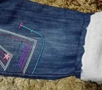 Модель Ш-2. Теплые джинсовые штанишки на меху. Очень теплые и мягкие. Пояс на ре. Киев, Киевская область. фото 4