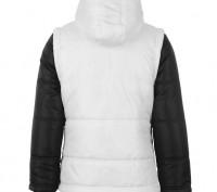 Теплая куртка Everlast Contrasting Sleeve Jacket Junior Girls Размер 7-8 лет. . Запорожье, Запорожская область. фото 3