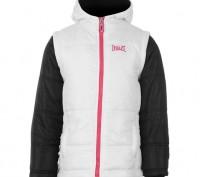Теплая куртка Everlast Contrasting Sleeve Jacket Junior Girls Размер 7-8 лет. . Запорожье, Запорожская область. фото 2