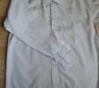 Модель Б-8. Белая классическая рубашка. Смешанный состав.   На возраст до 14 ле. Киев, Киевская область. фото 3