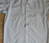 Модель Б-8. Белая классическая рубашка. Смешанный состав.   На возраст до 14 ле. Киев, Киевская область. фото 2