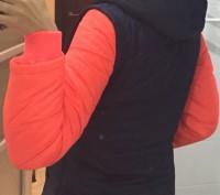 Теплая куртка Everlast Contrasting Sleeve Jacket Junior Girls Размер 9-10 лет . Запоріжжя, Запорізька область. фото 4