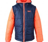 Теплая куртка Everlast Contrasting Sleeve Jacket Junior Girls Размер 9-10 лет . Запоріжжя, Запорізька область. фото 2