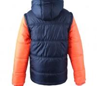 Теплая куртка Everlast Contrasting Sleeve Jacket Junior Girls Размер 9-10 лет . Запоріжжя, Запорізька область. фото 3