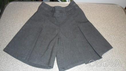юбка-шортики для девочки 4-6 лет впереди юбочка сзади шортики сзади резиночка и . Запорожье, Запорожская область. фото 1