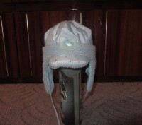 Зимняя шапочка на окружность головы 48-50см. с козырьком. Очень тёплая! Цена - . Запорожье, Запорожская область. фото 4