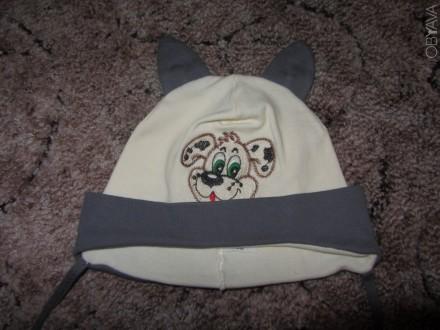 Зимняя шапочка на окружность головы 48-50см. с козырьком. Очень тёплая! Цена - . Запорожье, Запорожская область. фото 1