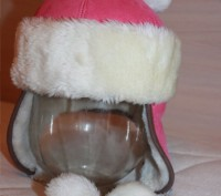 Зимняя шапка на 3-4 года (ушанка, шапочка на меху). Запорожье. фото 1