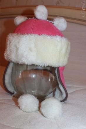 Зимняя шапочка в хорошем состоянии - согреет даже в самые лютые морозы. На меху.. Запоріжжя, Запорізька область. фото 1