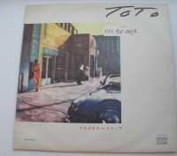 Виниловая пластинка Toto - Fahrenheit. Львов. фото 1