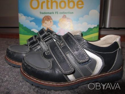 Закрытые туфли (ботиночки) Orthobe модель 101Bg, цена 450грн  Отличное качест. Запорожье, Запорожская область. фото 1