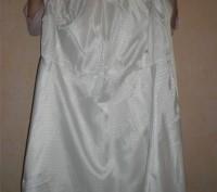 Плащ George белый разм 36(8),50%хлопок,50% полиамид, подкладка 100% полиамид.Дли. Запорожье, Запорожская область. фото 4