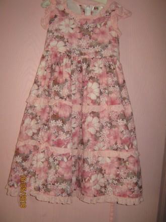 платье 5-6 лет. Одесса. фото 1