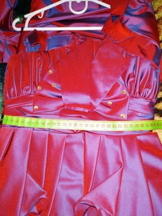 Продам платье на корсете для маленькой принцессы очень красивое нарядное стильно. Харьков. фото 1