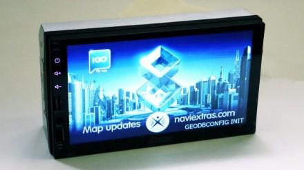 """2din Pioneer 7023 GPS Автомагнитола USB+SD+Bluetooth (Короткая база) копия 7"""" Э. Чернигов, Черниговская область. фото 2"""