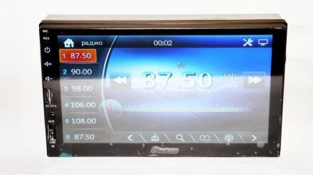 """2din Pioneer 7023 GPS Автомагнитола USB+SD+Bluetooth (Короткая база) копия 7"""" Э. Чернигов, Черниговская область. фото 6"""