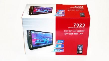 """2din Pioneer 7023 GPS Автомагнитола USB+SD+Bluetooth (Короткая база) копия 7"""" Э. Чернигов, Черниговская область. фото 7"""