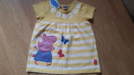 Платье Свинка Пеппа 4-5 лет. Чернигов. фото 1