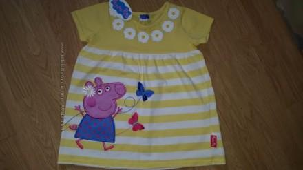 Продам новое платье Свинка Пеппа 4-5 лет. Состав 100% хлопок.   Цена 190 грн.. Чернигов, Черниговская область. фото 5