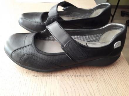 Школьные туфли Clarks, 3 р. стелька 23 см. Новые.. Чернигов, Черниговская область. фото 6
