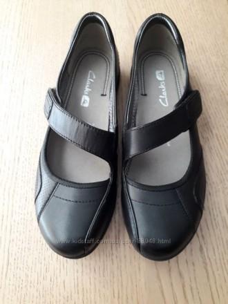 Школьные туфли Clarks, 3 р. стелька 23 см. Новые.. Чернигов, Черниговская область. фото 4