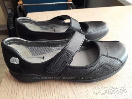 Школьные туфли Clarks, 3 р. стелька 23 см. Новые.. Чернигов, Черниговская область. фото 1