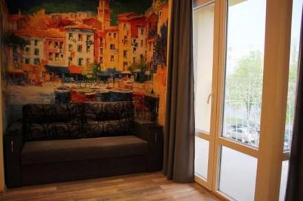 Очень хороший, дорогой ремонт, панорамные окна. Кондиционер. автономное отоплени. Центр, Херсон, Херсонская область. фото 5