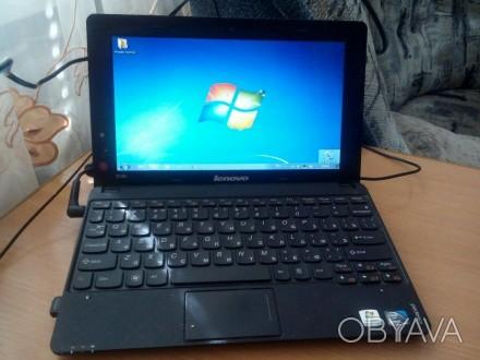 Продам отличный нетбук Lenovo S100c, черного цвета. Рекомендую приобрести именн. Киев, Киевская область. фото 1