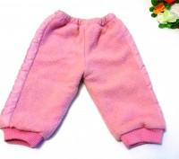 Яркий розовый костюм на маленькую принцессу. Теплые курточка и брючки. На капюшо. Запорожье, Запорожская область. фото 3
