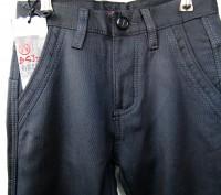 Брюки зимние для подростка фирменные B.S.J. JEANS  85% coton+15% elastan темно-т. Запоріжжя, Запорізька область. фото 4
