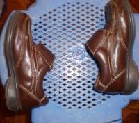 1.Белларусская обувь.обували пару раз.состояние новых.небольшой каблук.плотный з. Запорожье, Запорожская область. фото 6