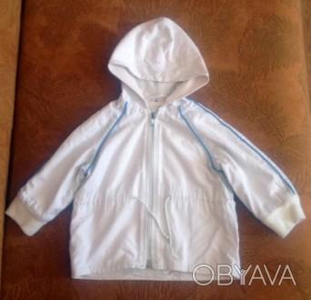 Легкая курточка-ветровочка. Замеры: длина-34см.; ширина по спинке -27см.; длина . Запоріжжя, Запорізька область. фото 1