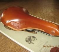 Продам кожаное седло Brooks Swift Chrome  Модель Swift самая молодая в ассорти. Херсон, Херсонская область. фото 4