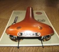Продам кожаное седло Brooks Swift Chrome  Модель Swift самая молодая в ассорти. Херсон, Херсонская область. фото 5