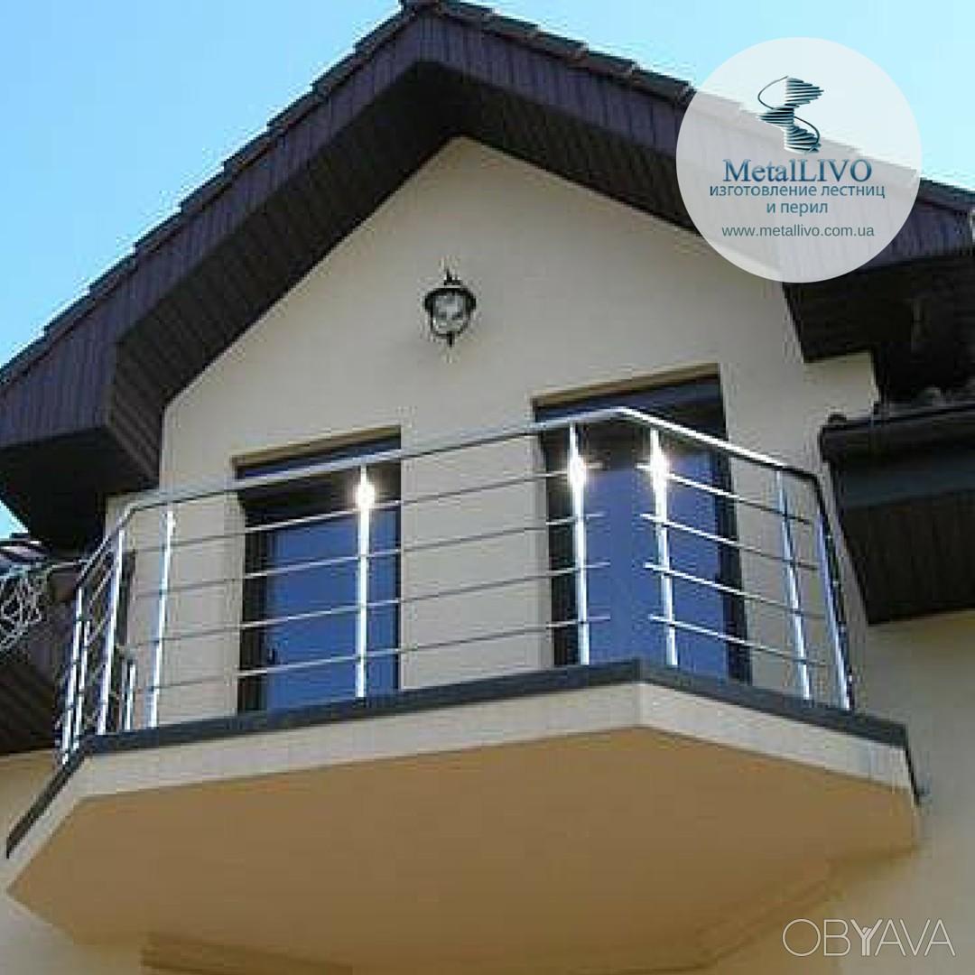 Ограждения балконов нержавейка, одесса - прочие строительные.