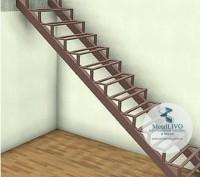 Сварной каркас лестницы. Одесса. фото 1