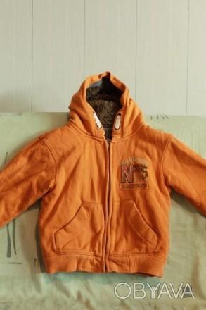 Куртка детская демисезон, подойдет как мальчику так и девочке, яркая, цвет - ора. Запоріжжя, Запорізька область. фото 1