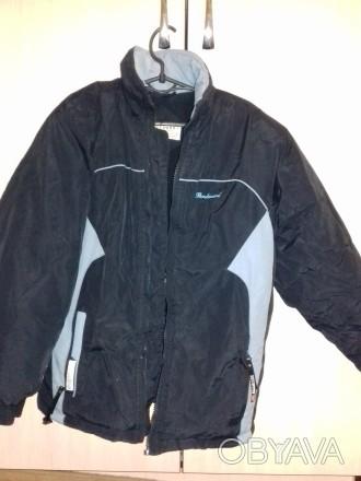 Куртка зимняя на мальчика 9-13 лет в хорошем состоянии, на синтепоне, внутри оче. Чернигов, Черниговская область. фото 1
