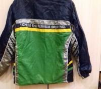 Куртка осенняя на мальчика 9-13 лет в хорошем состоянии, внутри подкладка флис, . Чернигов, Черниговская область. фото 3