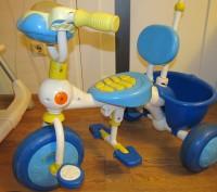 Подходит для деток от 1-го годика и до 4-ох лет. Велосипед растет вместе с малыш. Киев, Киевская область. фото 3